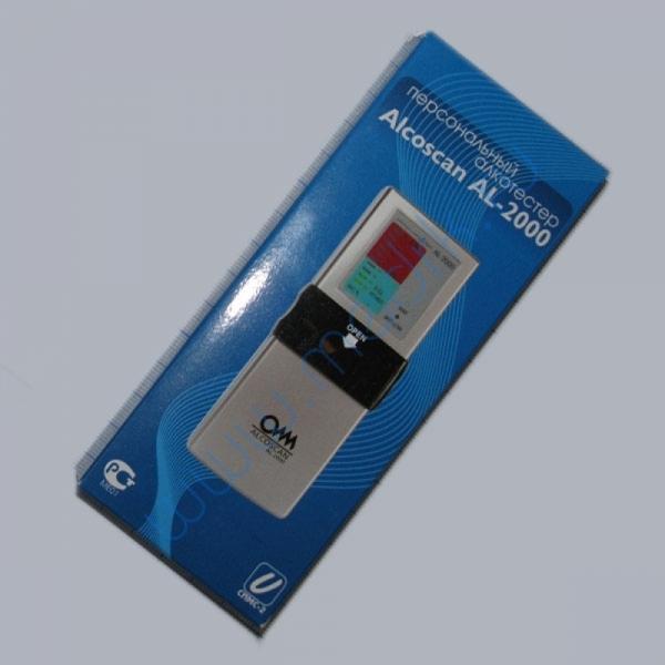 Алкотестер Alcoscan AL-2000  Вид 2