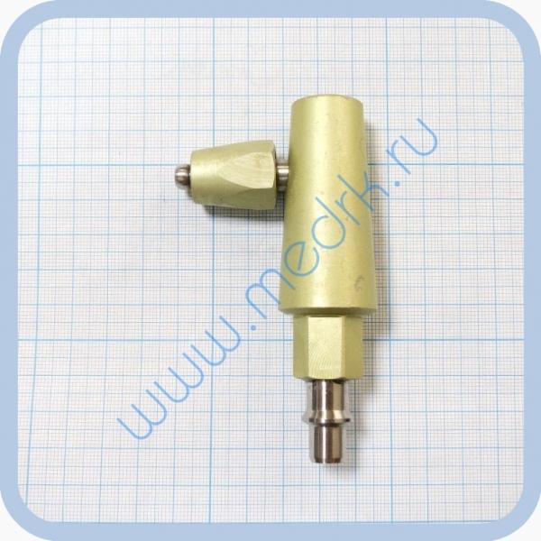 Штекер угловой газовый (кислород) для быстроразъемных соединений