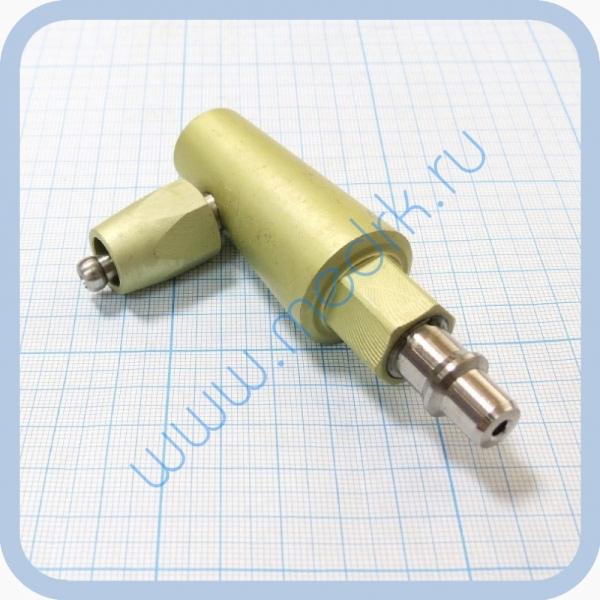Штекер угловой газовый (кислород) для быстроразъемных соединений  Вид 1