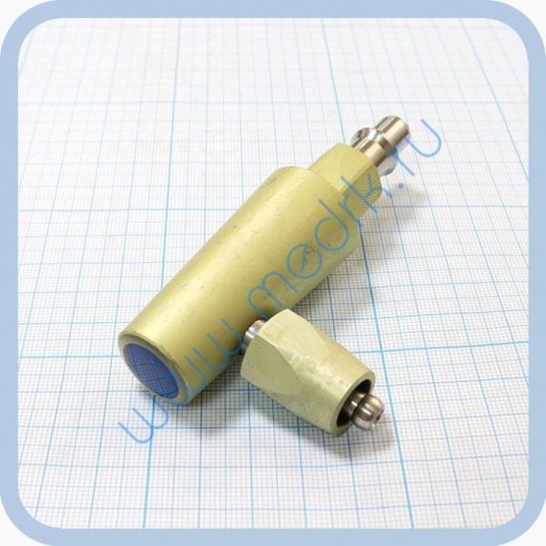Штекер угловой газовый (кислород) для быстроразъемных соединений  Вид 2