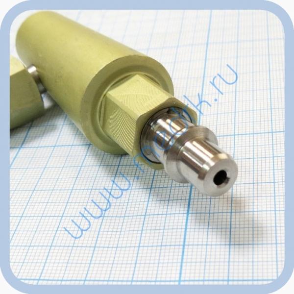 Штекер угловой газовый (кислород) для быстроразъемных соединений  Вид 3