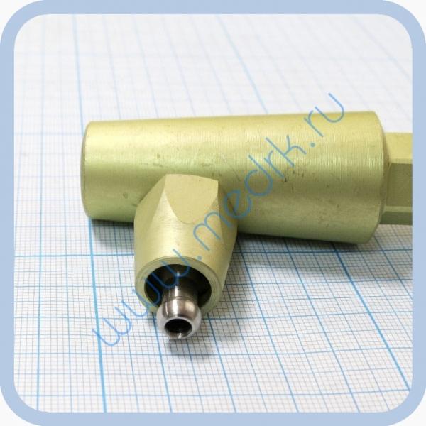 Штекер угловой газовый (кислород) для быстроразъемных соединений  Вид 4