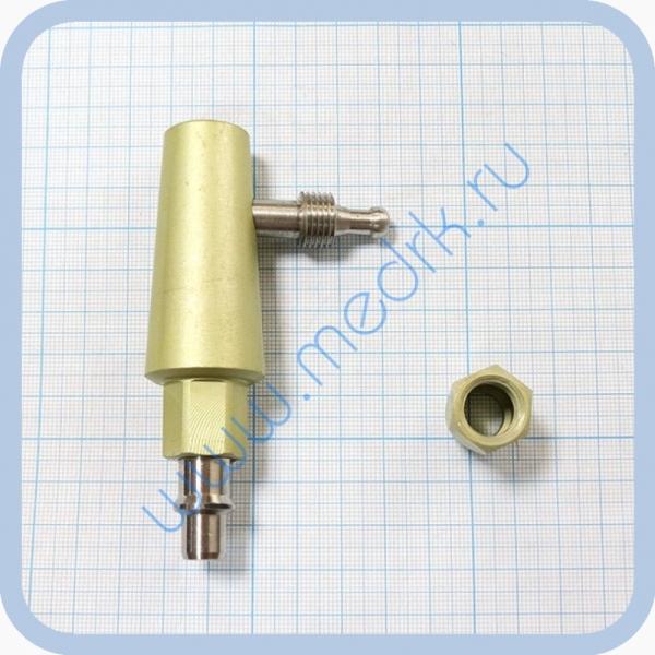 Штекер угловой газовый (кислород) для быстроразъемных соединений  Вид 6