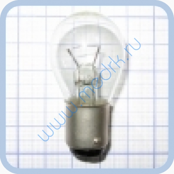 Лампа накаливания самолетная СМ 28-20 B15d/18  Вид 4