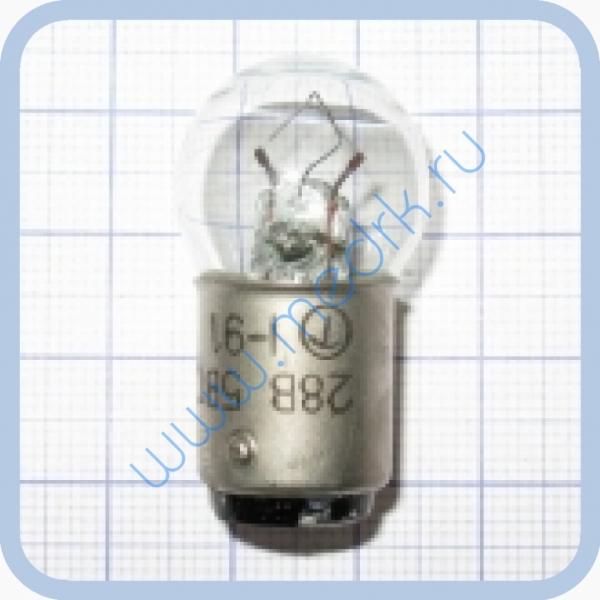 Лампа накаливания самолетная СМ 28-5-1  Вид 2