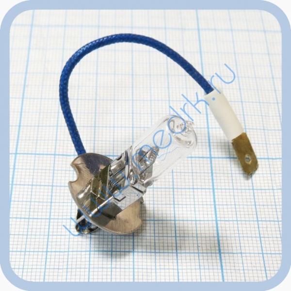 Лампа накаливания автомобильная АКГ 24-70-1 (h3) PK22s  Вид 1