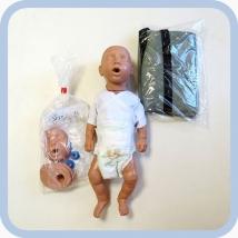 Манекен новорожденного W44541 для обучения реанимации