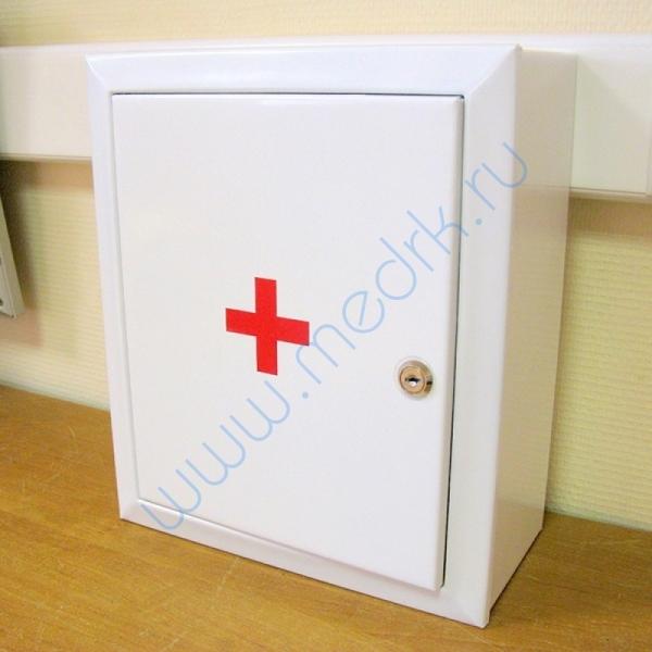 Шкаф-аптечка металлическая 330х280х140  Вид 1