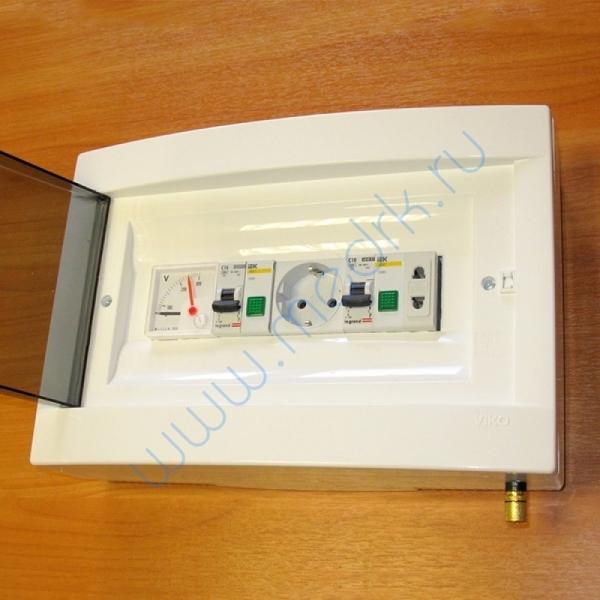 Щиток электрический ЩС Оптима-В с вольтметром