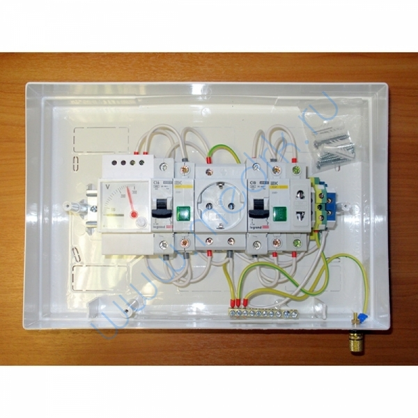 Щиток электрический ЩС Оптима-В с вольтметром  Вид 3