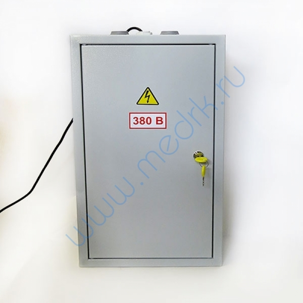 Щит электрический 3-х фазный с вольтметром  Вид 4