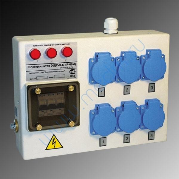 Электрощиток IP54 ЭЩР-О-6 (Р-06М)   Вид 1