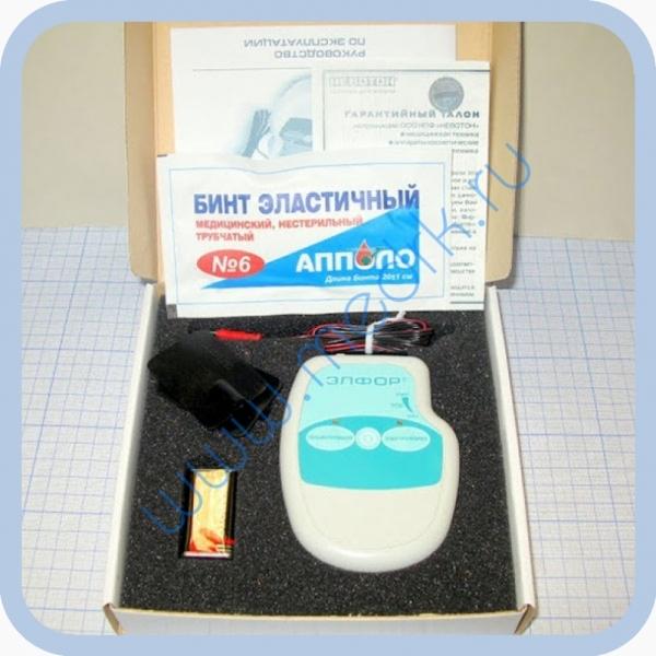 Аппарат ЭЛФОР-портативный для гальванизации и проведения электрофореза  Вид 3