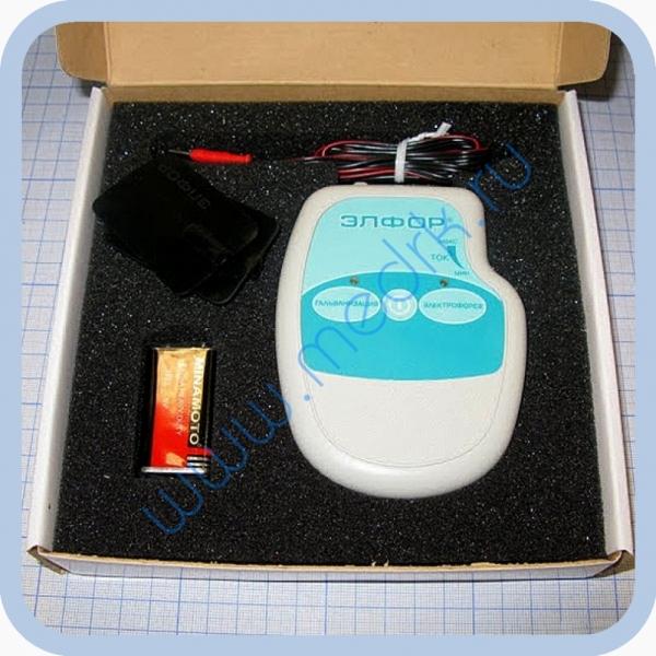 Аппарат ЭЛФОР-портативный для гальванизации и проведения электрофореза  Вид 4