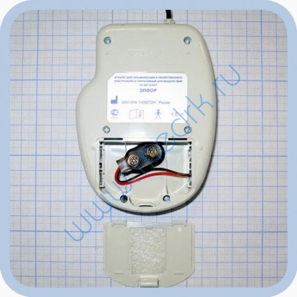 Аппарат ЭЛФОР-портативный для гальванизации и проведения электрофореза  Вид 5