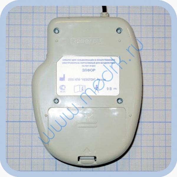 Аппарат ЭЛФОР-портативный для гальванизации и проведения электрофореза  Вид 6