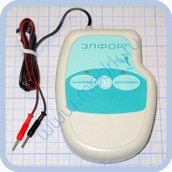 Аппарат ЭЛФОР-портативный для гальванизации и проведения электрофореза  Вид 7