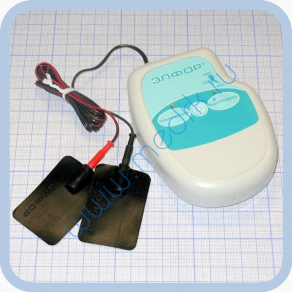 Аппарат ЭЛФОР-портативный для гальванизации и проведения электрофореза  Вид 1