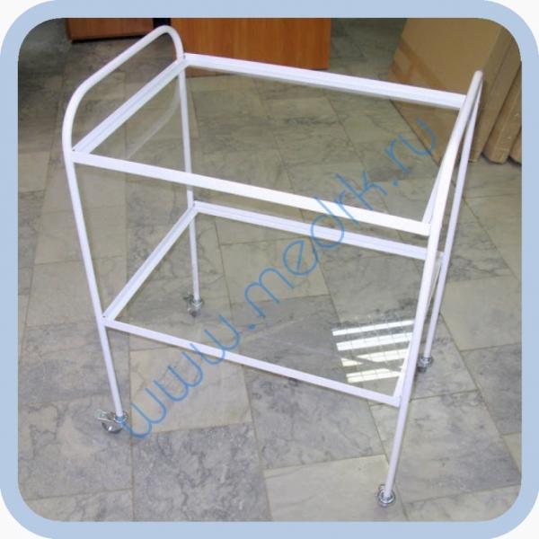 Стол инструментальный СИП-2С с 2-мя стеклянными полками  Вид 5