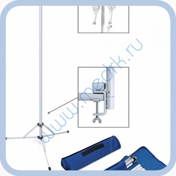 Штатив медицинский для индивидуальных вливаний ШР-01 (разборный)  Вид 1