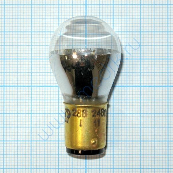 Лампа накаливания самолетная СМЗ 28-24  Вид 1