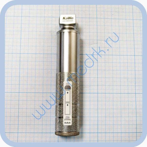Ларингоскоп со стандартной оптикой KaWe (Рукоять средняя 2,5 В стандартный свет) №03.11000.721  Вид 1