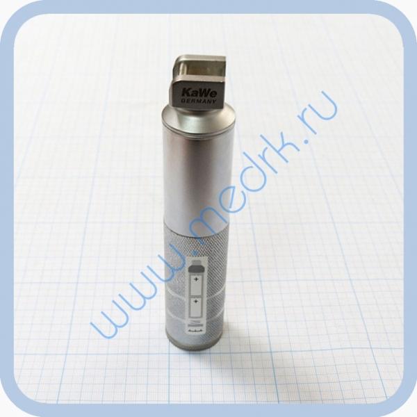 Ларингоскоп со стандартной оптикой KaWe (Рукоять средняя 2,5 В стандартный свет) №03.11000.721  Вид 2