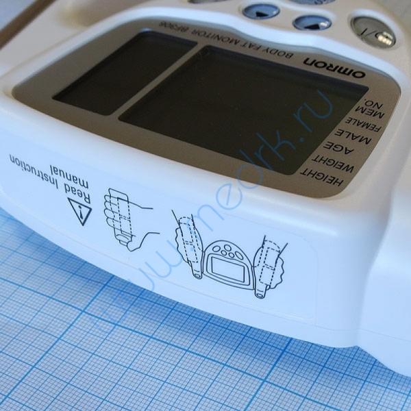 Определитель жировых отложений Omron BF-306 ручной  Вид 6