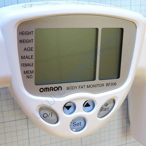 Определитель жировых отложений Omron BF-306 ручной  Вид 7