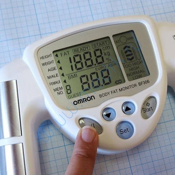 Определитель жировых отложений Omron BF-306 ручной  Вид 8