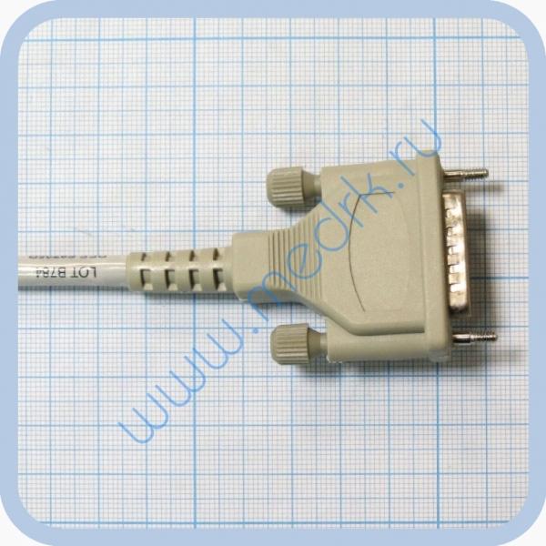 Кабель пациента для ЭКГ Schiller AT-1, AT-2, AT-4, AT-6 с 4-мм штекерами, F8725 R  Вид 3