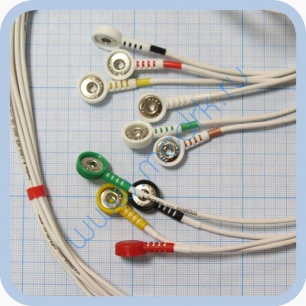 Кабель для подключения одноразовых электродов для КТ-04-8, КТ-04АД-3(М) (12 pin)  Вид 3