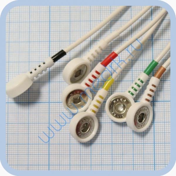 Кабель для подключения одноразовых электродов для КТ-04-8, КТ-04АД-3(М) (12 pin)  Вид 6