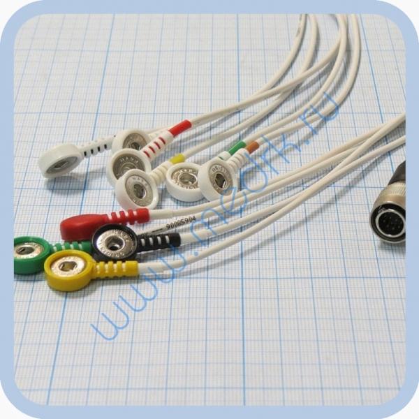 Кабель для подключения одноразовых электродов для КТ-04-8, КТ-04АД-3(М) (12 pin)  Вид 8