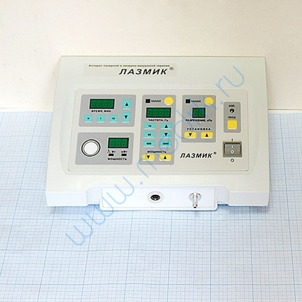 Аппарат ЛАЗМИК-03 лазерной и лазерно-вакуумной терапии   Вид 2