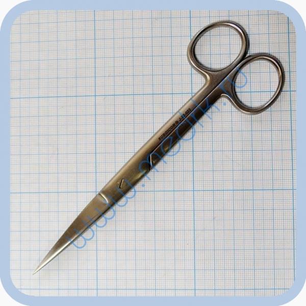 Ножницы прямые с 2 острыми концами 165 мм J-22-022   Вид 2