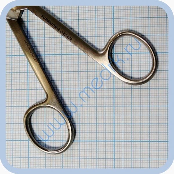 Ножницы прямые с 2 острыми концами 165 мм J-22-022   Вид 4