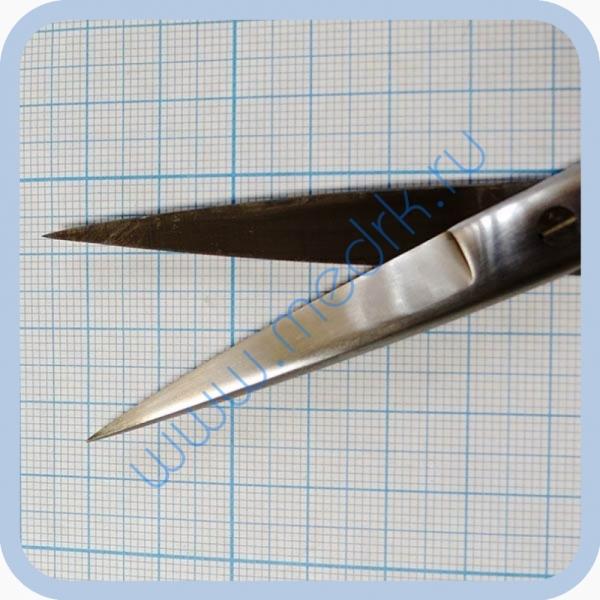 Ножницы прямые с 2 острыми концами 165 мм J-22-022   Вид 5