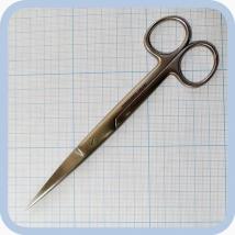 Ножницы прямые с 2 острыми концами 165 мм J-22-022