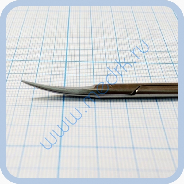 Ножницы изогнутые остроконечные 115 мм J-22-212 A  Вид 2