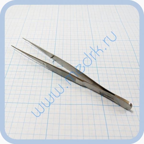 Пинцет анатомический глазной, прямой 150 мм J-16-140   Вид 1