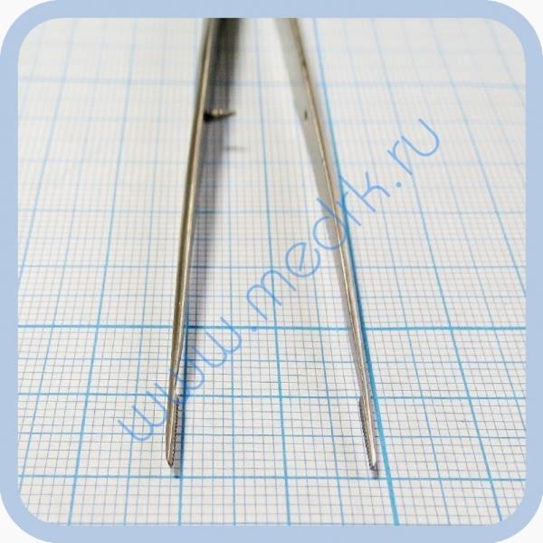 Пинцет анатомический глазной, прямой 150 мм J-16-140   Вид 2