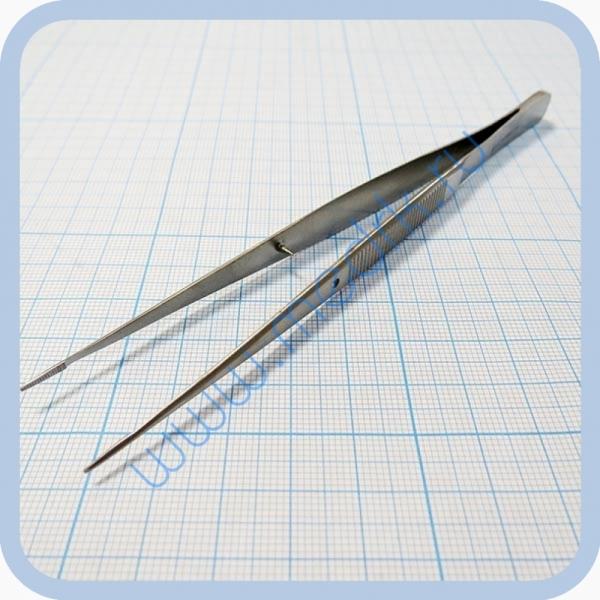 Пинцет анатомический глазной, прямой 150 мм J-16-140   Вид 3