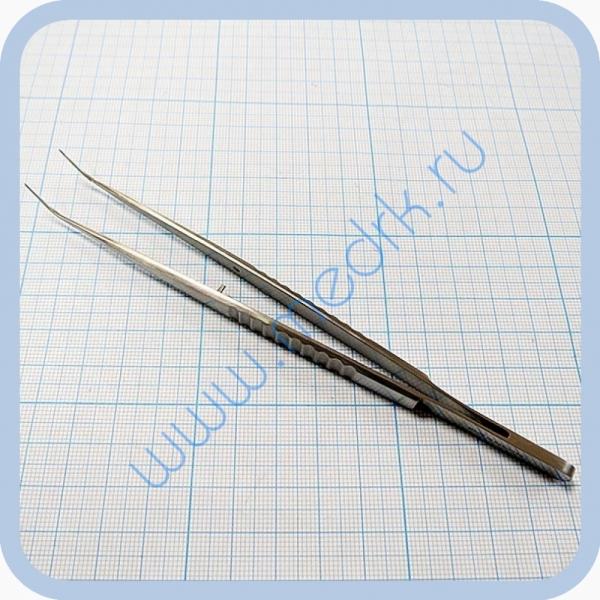 Пинцет стоматологический изогнутый SD-0081-00 160 мм   Вид 3
