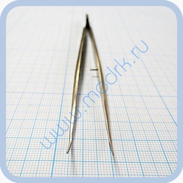 Пинцет стоматологический изогнутый SD-0081-00 160 мм   Вид 4