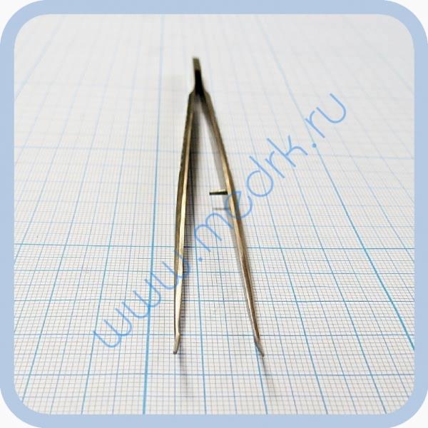 Пинцет стоматологический изогнутый SD-0081-00 160 мм   Вид 5
