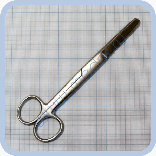Ножницы тупоконечные прямые 165 мм J-22-006 (Surgicon)  Вид 1