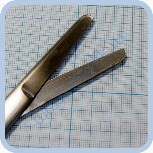 Ножницы тупоконечные прямые 165 мм J-22-006 (Surgicon)  Вид 2