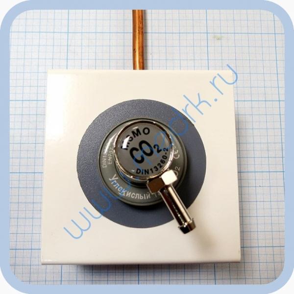 Соединение быстросъемное консоль КПМ-АМС-НГС-1 (клапан газовый на углекислый газ со штекером стандарта DIN)  Вид 1