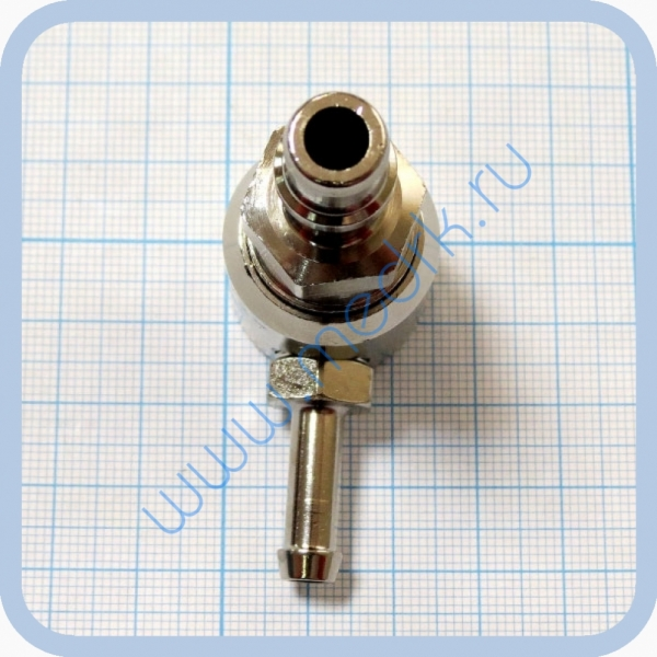 Соединение быстросъемное консоль КПМ-АМС-НГС-1 (клапан газовый на углекислый газ со штекером стандарта DIN)  Вид 5